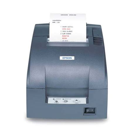 Epson Printer Tm U220d Tm U220 D Usb Port Non Auto Cutter epson america c31c515806 barcodefactory