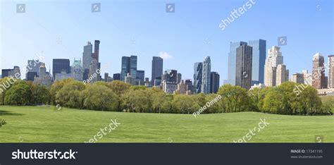 Landscape Architect Of Central Park Landscape Of Central Park New York City Stock Photo