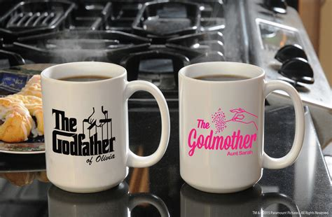 unique coffee gifts custom coffee mug set unique gifts for godparents