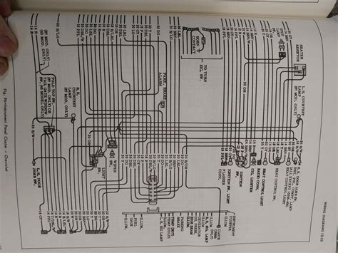 1966 chevy dash wiring diagram the h a m b