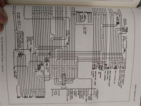 1966 chevy dash wiring diagram the h a m b