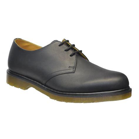 dr martens shoes for dr martens dr martens 1461 pw 3 eyelet greasy black