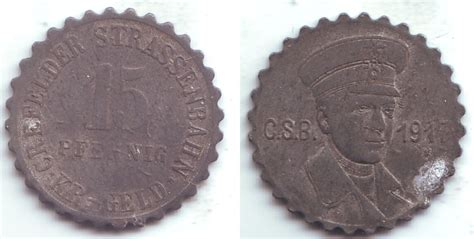 can möbel krefeld 15 pfennig 1917 crefeld krefeld notgeld der crefelder