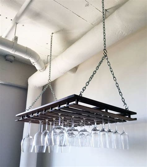 Hanging Bar Glass Rack by Best 10 Wine Glass Rack Ideas On Glass Rack Wine Glass Holder And Wine Glass Storage