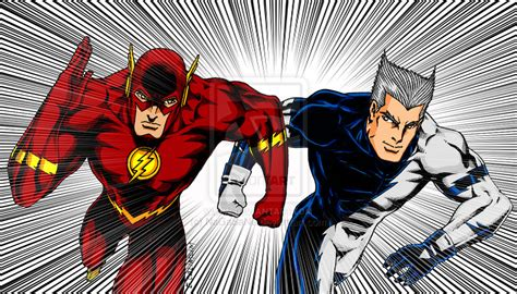 movie quicksilver vs flash character compare superhero etc