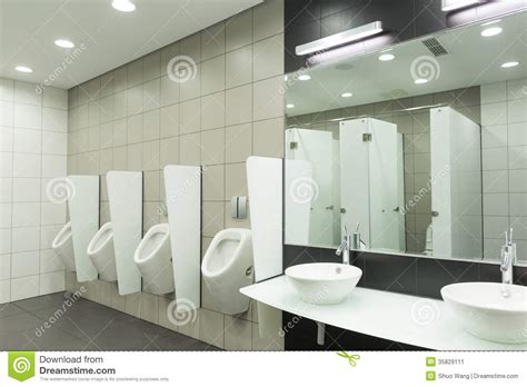 mens public bathroom wc for men stock image image 35829111