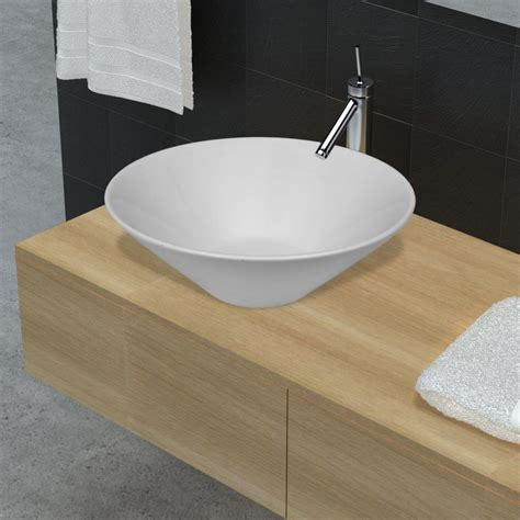 porcelain or ceramic for bathroom bathroom porcelain ceramic sink art basin bowl white
