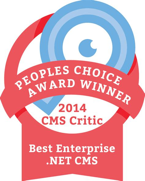 best cms 2014 the winner of the 2014 s choice cms award for best