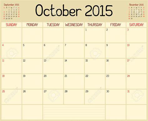 Calendario Can 2015 October 2015 Calendar Clip 2017 Printable Calendar