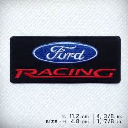 Ford Racing Clothing Ford Racing Embroidered Patch Iron On Clothes Clothing