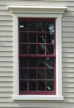 colonial door trim house windows bay windows bump outs trim sills