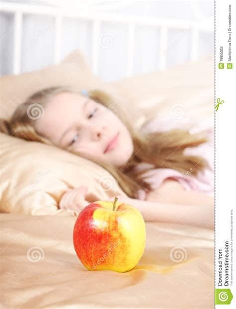 Apple Before Bed by Apple Royalty Free Stock Image Image 18655326