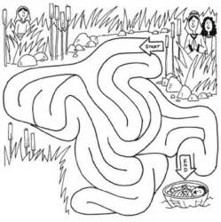 baby moses coloring page 25 best ideas about baby moses on baby moses