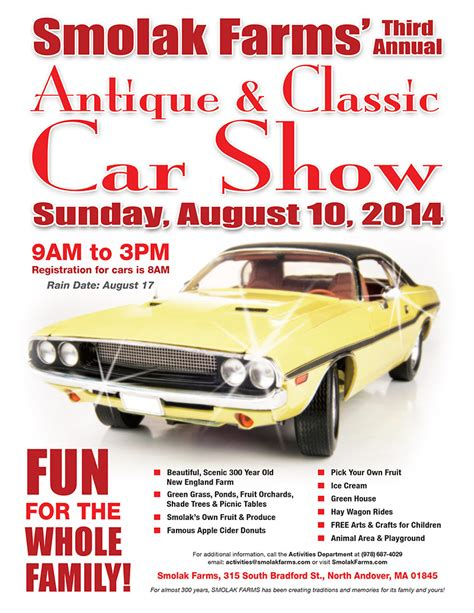 Car Show Flyer Template 5 free car show flyer templates excel pdf formats