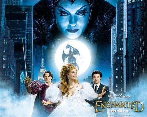 If One Of The From Enchanted Had To Enchanted Disney Wallpaper 433354 Fanpop