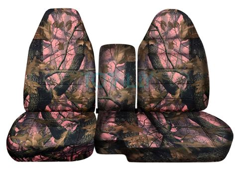 camo split bench seat covers 1991 2012 ford ranger 60 40 camo truck seat covers w