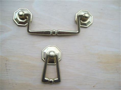 2 styles drawer cupboard cabinet drop ring pull handle