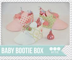 template for baby shower booties 1000 images about templates on pinterest favor boxes