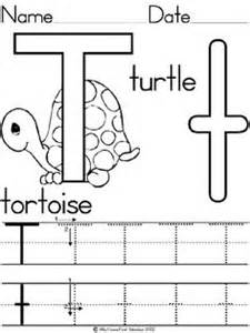 Letter t coloring worksheet t pinterest