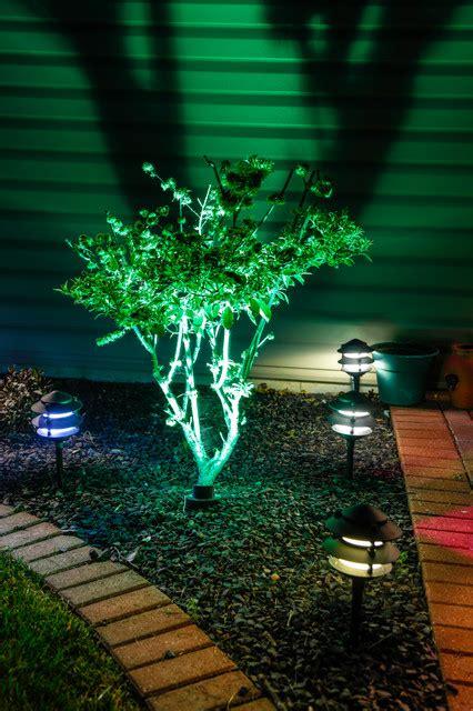 color changing led landscape lighting kits multi color led landscape lighting plantoburo com