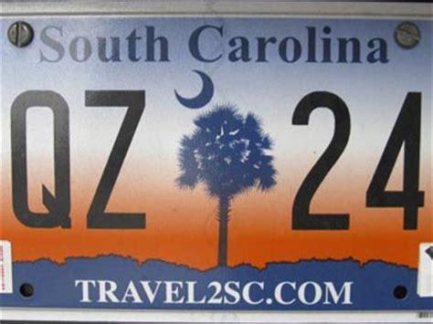 South Carolina Vanity Plates by South Carolina