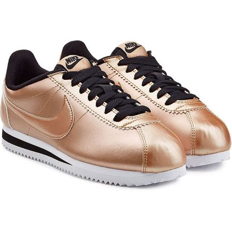 Sepatu Sneakers Nike Classic Cortez Leather nike classic cortez metallic leather sneakers 1 163 960 idr liked on polyvore featuring shoes