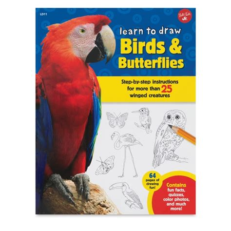drawing birds learn to 1600583407 walter foster learn to draw series blick art materials