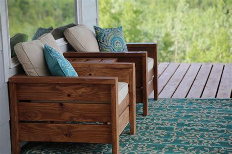 ana white modern outdoor chair  xs  xs diy