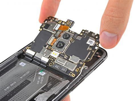 oneplus 6 teardown shows screen repair is battery