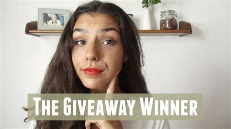 Youtubers That Do Giveaways - o vencedor do giveaway youtube