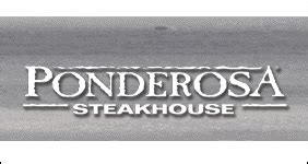 Ponderosa Gift Cards - buy ponderosa steakhouse gift cards at a discount