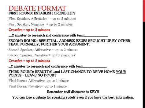 debate evidence card template debate notes and format w rubric