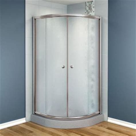 Shower Doors At Home Depot Maax Talen 42 In X 42 In X 70 In Neo Frameless Corner Shower Door Glass In Nickel