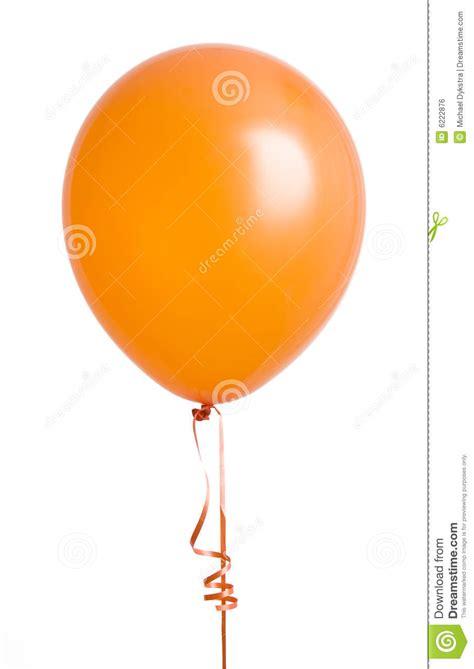 orange balloon  white stock photo image  birthday
