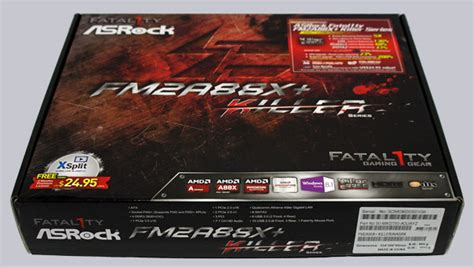Sale Motherboard Amd Asrock Fm2a88x Killer Fm2 Amd A88x Ddr3 asrock fatal1ty fm2a88x killer socket fm2 motherboard review