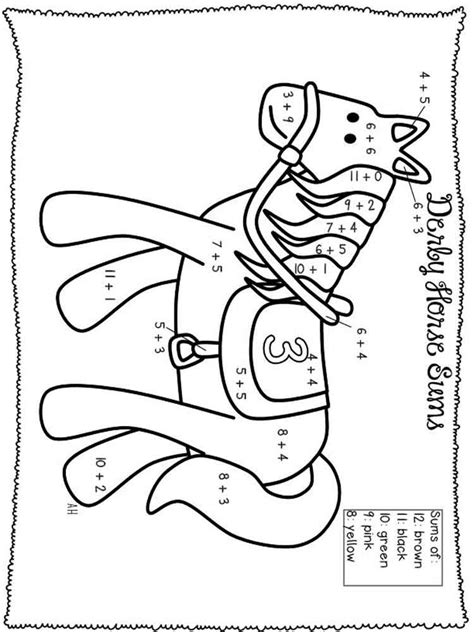 Addition Coloring Pages Free Printable Addition Coloring Addition Coloring Pages Free