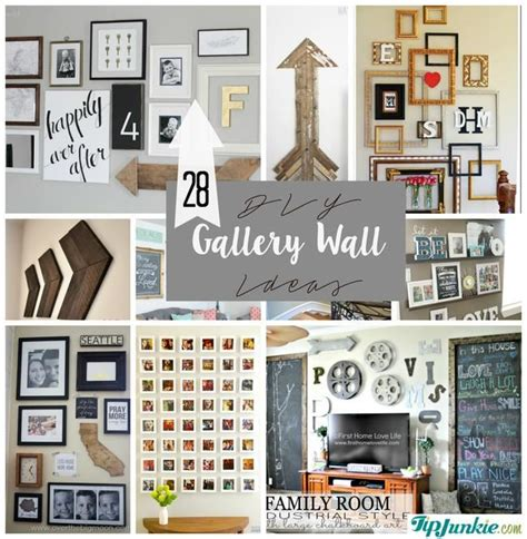 gallery walls 28 ideas for gorgeous diy gallery walls tip junkie