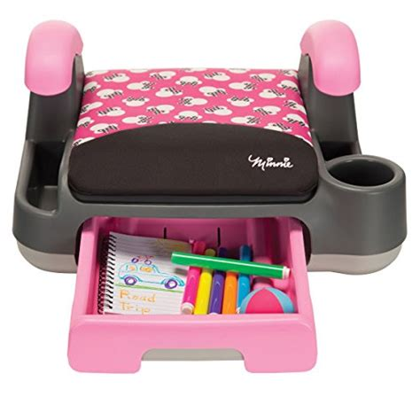 Cocolatte Booster Seat Pink disney store and go backless booster car seat minnie silhouette pink vehicles parts vehicle