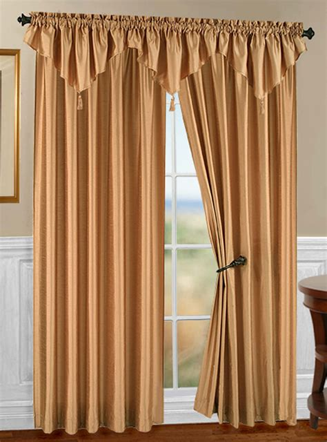 stylemaster curtains tribeca faux silk rod pocket curtain stylemaster curtains