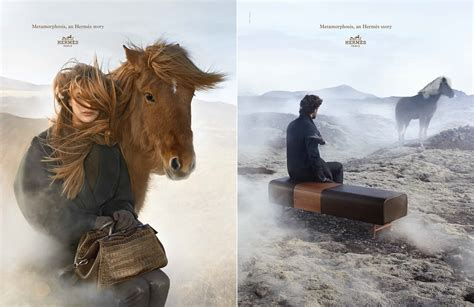 hermes  autumnwinter campaign rides high  equestrian influence pursuitist