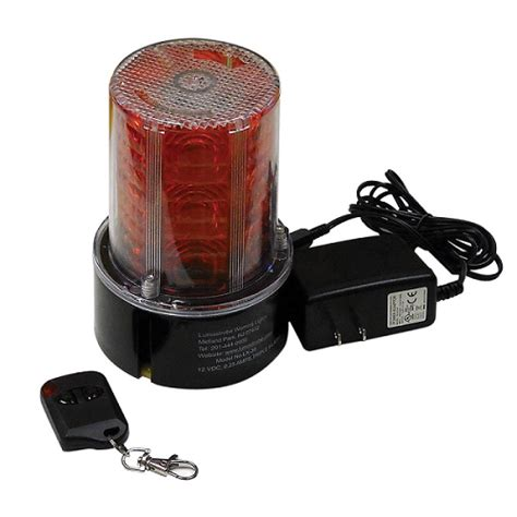 Lu Emergency Remote remote controlled led warning beacon