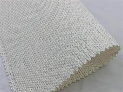 Plastic Coated Polyester Mesh Textile Fabric