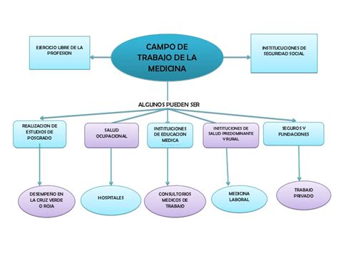 salidas profesionales sociologia mapa conceptual de cos de trabajo de la medicina
