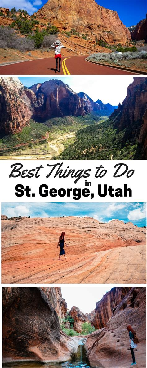 the 3 day st george utah itinerary