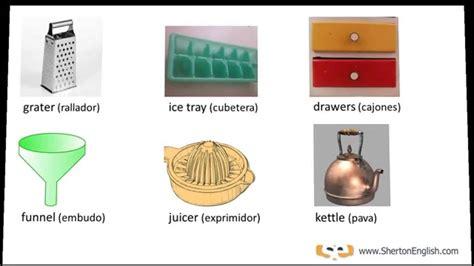 imagenes utensilios de cocina en ingles vocabulario ingl 233 s la cocina parte 2 2 the kitchen