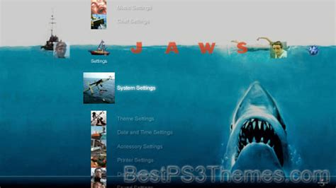 themes in the book jaws jaws best ps3 themes