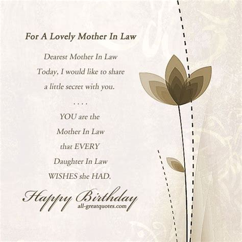 mother in law motherinlaw happybirthday birthdaycards birthdaywishes