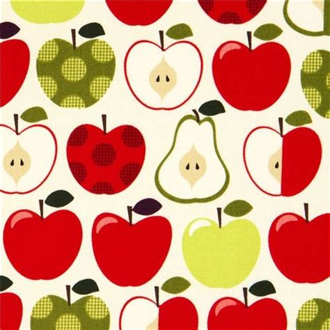 pattern for fabric apple cream apples and pears fabric by timeless treasures usa