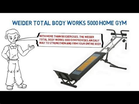 weider total works 5000 home