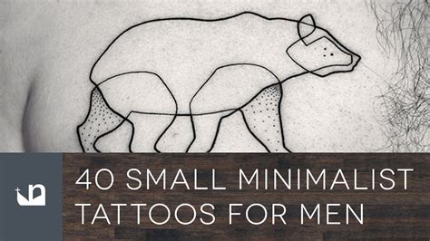 40 small minimalist tattoos for men youtube